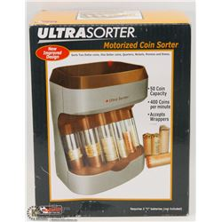NEW ULTRA SORTER MOTORIZED COIN