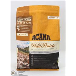 4.4LB OF ACANA WILD PRAIRIE DOG FOOD