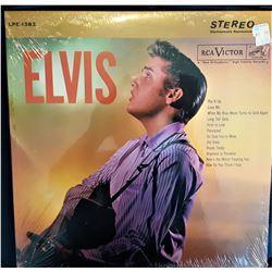 11)  FACTORY SEALED ELVIS LP