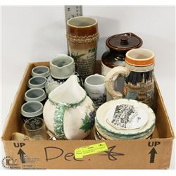 FLAT OF ASSORTED COLLECTIBLES INCL ORIGINAL KING
