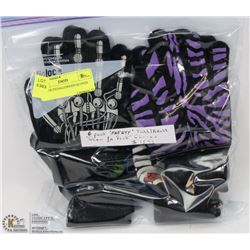 6PK YOUTH HALLOWEEN GLOVES