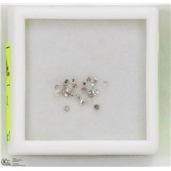 61) ASSORTED LOOSE DIAMONDS, ROUNDS, APPROX