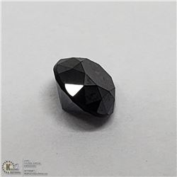 8) GENUINE BLACK DIAMOND, APPROX 0.50 CTS ROUND
