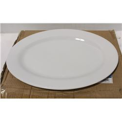 "LOT OF 3 NEW 18"" OVAL PLATTERS"