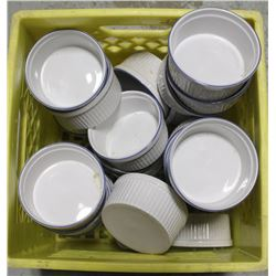 "CRATE OF 4"" SAUCE-CUPS"