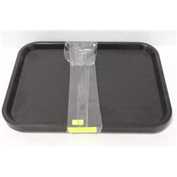 CAFETERIA  TRAYS- 6 TRAYS