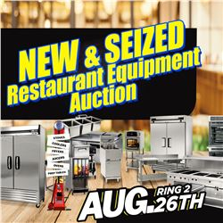 WELCOME TO THE KASTNER AUCTIONS RING 2 RESTAURANT