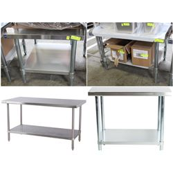 FEATURE - NEW STAINLESS STEEL TABLES AND STANDS