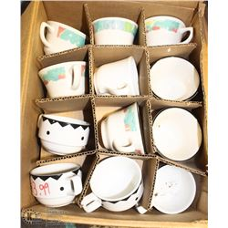 CASE OF 36 ONEIDA CLASSIC COFFEE CUPS