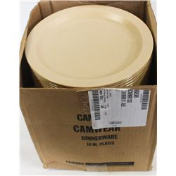 """CASE OF CAMBRO 10"""" PLATES"""