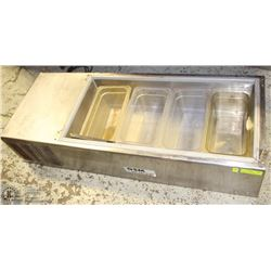 SILVER KING REFRIGERATED INSERTS FOR PREP TABLE