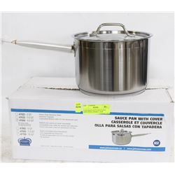 4.5QT HEAVY DUTY SAUCE PAN INDUCTION CAPABLE - NEW