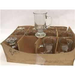 CASE OF 12 NEW IRISH COFFEE MUGS