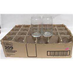 2 DOZEN LIBBY 16OZ BEER GLASSES.