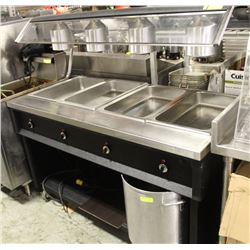 QUEST HOT BUFFET TABLE WITH POWER ADAPTOR AND