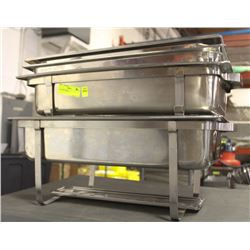 2 CHAFING DISHES