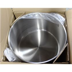 60QT THERMALLOY STAINLESS STEEL DEEP STOCK POT