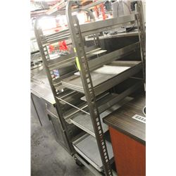 COOLING CART WITH PANS