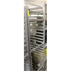 20 SLAT COOLING RACK ON WHEELS