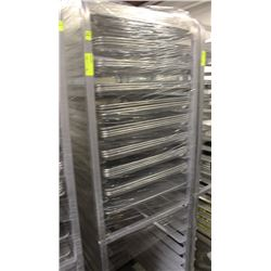20 SLAT COOLING RACK ON WHEEL W/ TRAYS