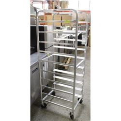 NEW OMCAN 10 SLAT SHEET TRAY ON WHEELS