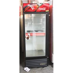 TRUE SINGLE GLASS DOOR POP FRIDGE