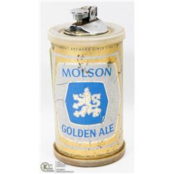 RARE MOLSON GOLDEN ALE TABLE LIGHTER