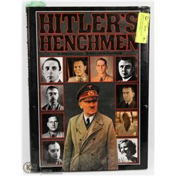 HARDCOVER BOOK CALLED HITLERS HENCHMAN