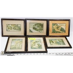 6 MINI FRAME DAVINCI PICTURES