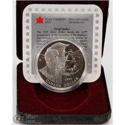RCM 1995 PROOF SILVER  DOLLAR, 325TH