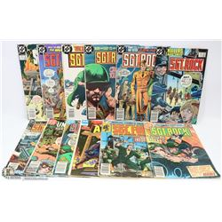 12 MARVEL, MODERN, & DC WAR COMICS.