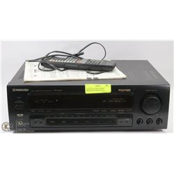 PIONEER VSX-463S STEREO RECEIVER W/ MANUAL & RC