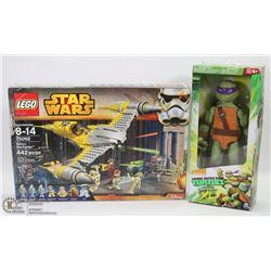 STAR WARS LEGO & TEENAGE MUTANT NINJA TURTLE