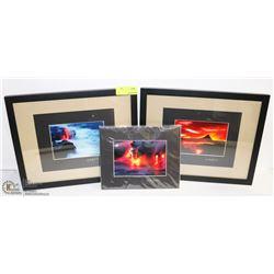 BOX OF G. BRAD LEWIS PHOTOGRAPHY ARTWORK