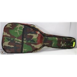 NEW GUITAR PADDED SOFT CASE IN CAMO COLOURS