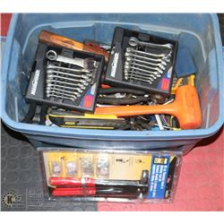 BOX 2 INCL ASSORTED TOOLS INCL WRENCHES, ALLAN