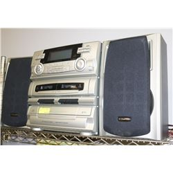 EMERSON 5 DISC CD STEREO