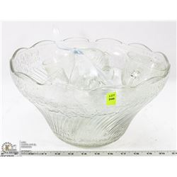 DELUXE ESTATE PUNCH BOWL SET