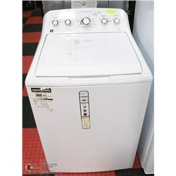 GE 4.9 CUFT STAINLESS STEEL BASKET TOP LOAD WASHER