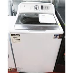 GE 5.3 CUFT STAINLESS STEEL CAPACITY WASHER (He)