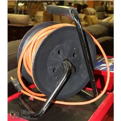 EXTENSION CORD WITH REEL