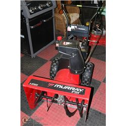 "MURRAY 6SPD 5HP 24"" SNOW BLOWER"