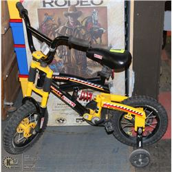 TONKA MIGHTY BIKE W/DUAL SHOCK SYSTEM. COMES