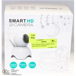 NEW SMART HH IP CAMERA WITH WIFI FOR CELLPHONE