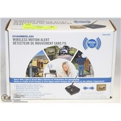 CHAMBERLAIN WIRELESS MOTION ALERT SYSTEM NEW