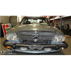 UNRESERVED! 1988 MERCEDES BENZ 560 SL