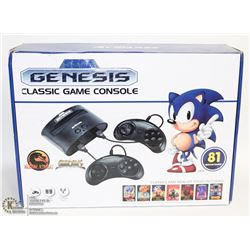NEW SEGA GENESIS CLASSIC GAME CONSOLE WITH