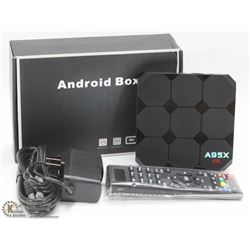NEW A95X ANDROID TV BOX WITH REMOTE