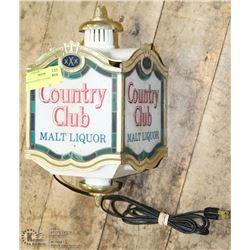 1960'S COUNTRY CLUB BAR LIGHT