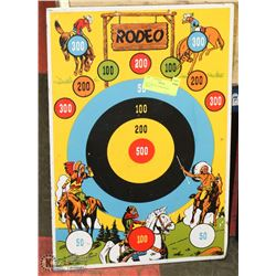 "1950""S METAL COWBOYS & INDIANS TARGET"